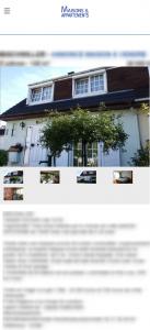 Affichage mobile Maisons et Appartements