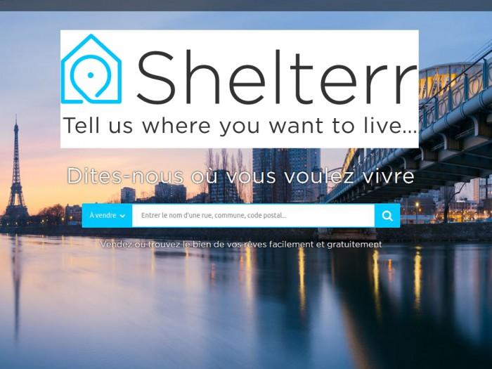 Shelterr une plateforme d'annonces immobilières disponible en passerelle automatique sur drive fox