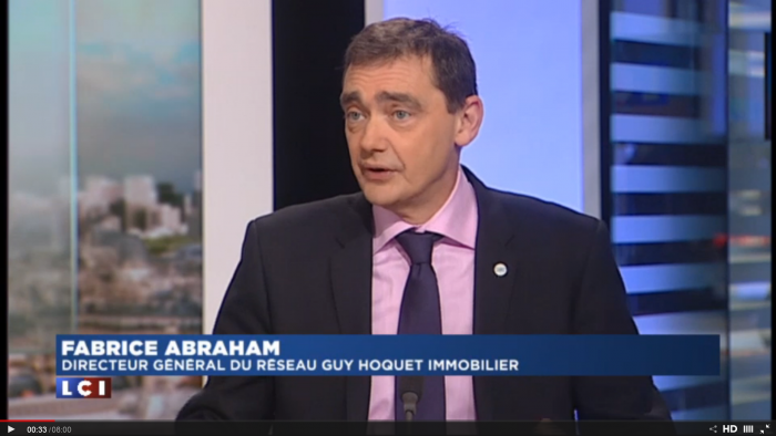 Le directeur général de Guy Hoquet intervient sur LCI