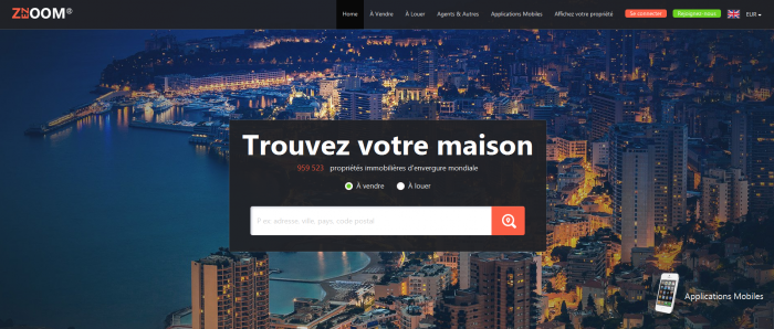 ZEZOOM, un site d'annonces international