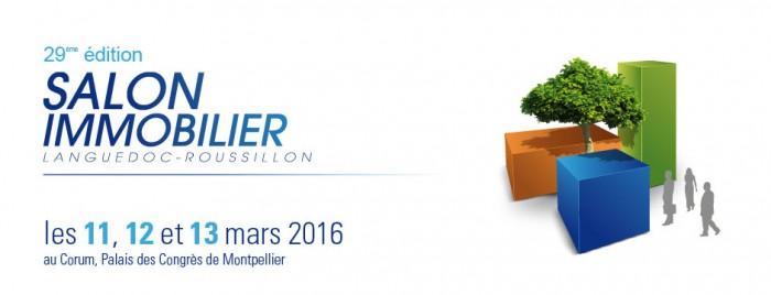 29° édition du Salon de l'Immobilier – 11/12/13 Mars à Montpellier