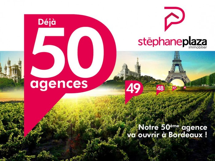 Stéphane Plaza Immobilier : Signature du 50 e contrat