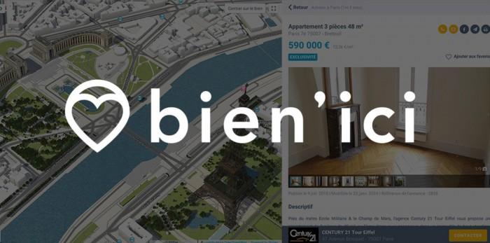 Immobilier: Poursuivez l'expérience avec le portail d'annonces Bien'Ici !