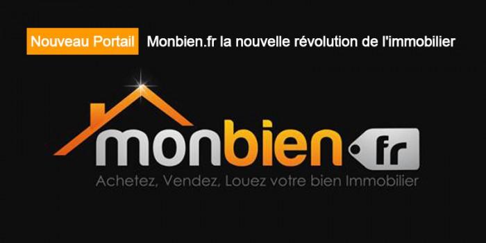 Nouveau Portail : Monbien.fr la nouvelle révolution de l'immobilier