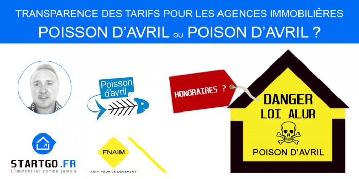 Immobilier: Transparence des tarifs poisson ou poison d'avril !