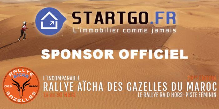 Le réseau STARTGO immobilier devient sponsor officiel du Rallye Aïcha des Gazelles 2019